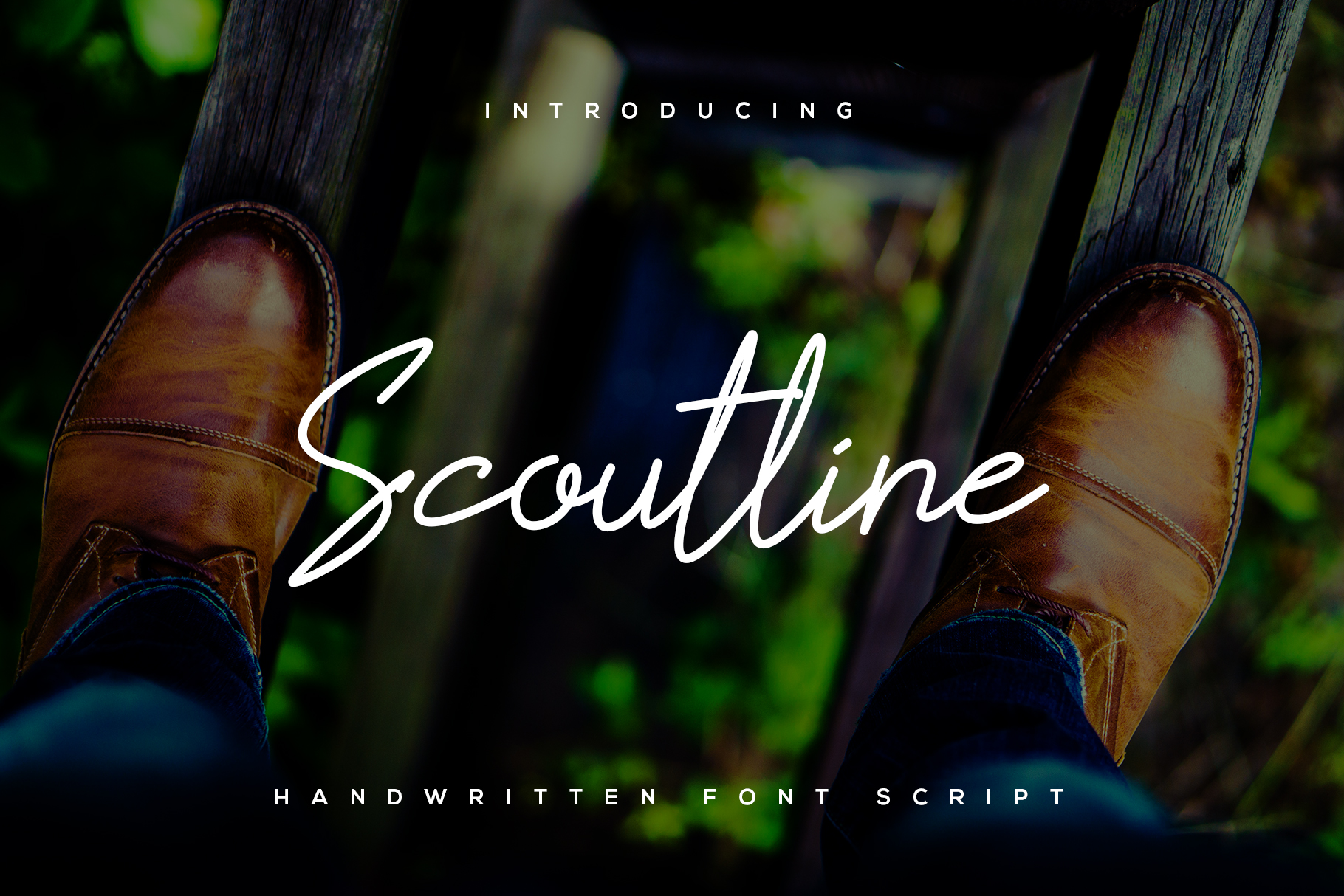 Scoutline Font example image 1
