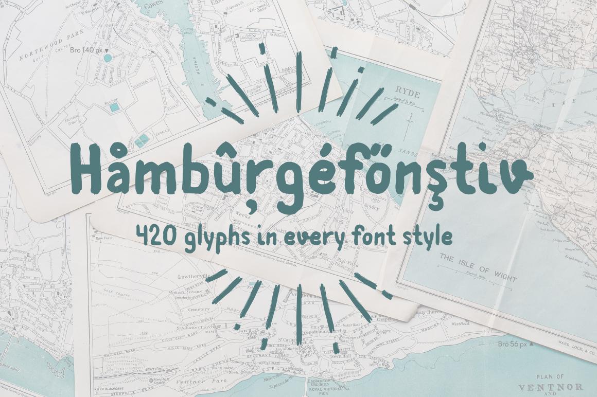 Bro—handwritten font example image 3