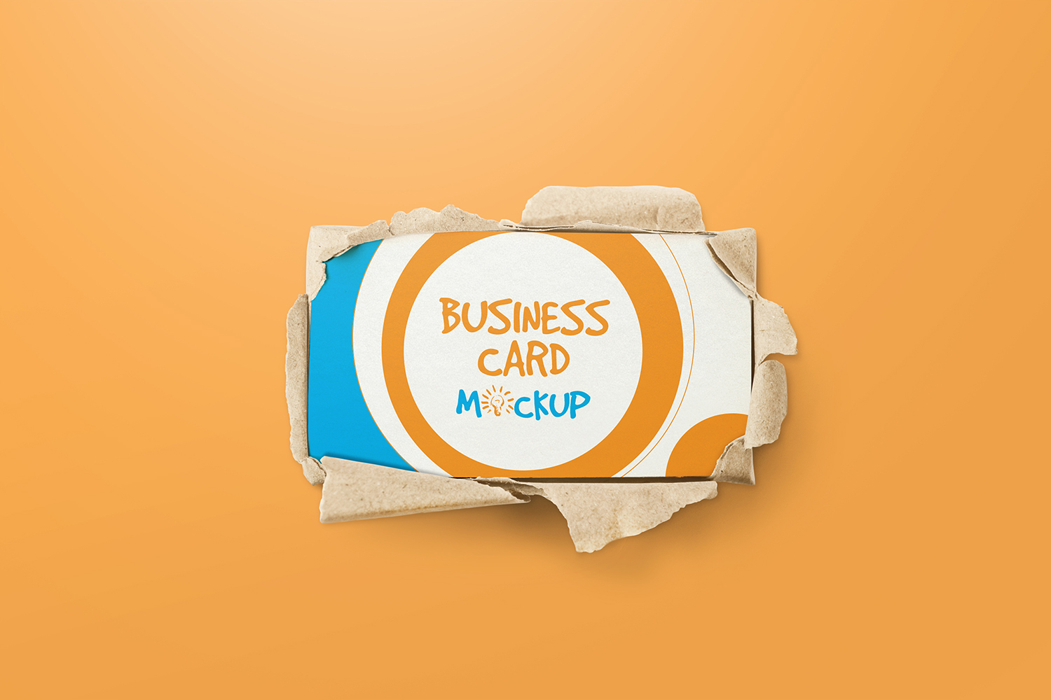 90x50 Business Card Mockups example image 3