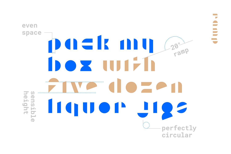 Ramp Display Font example image 3