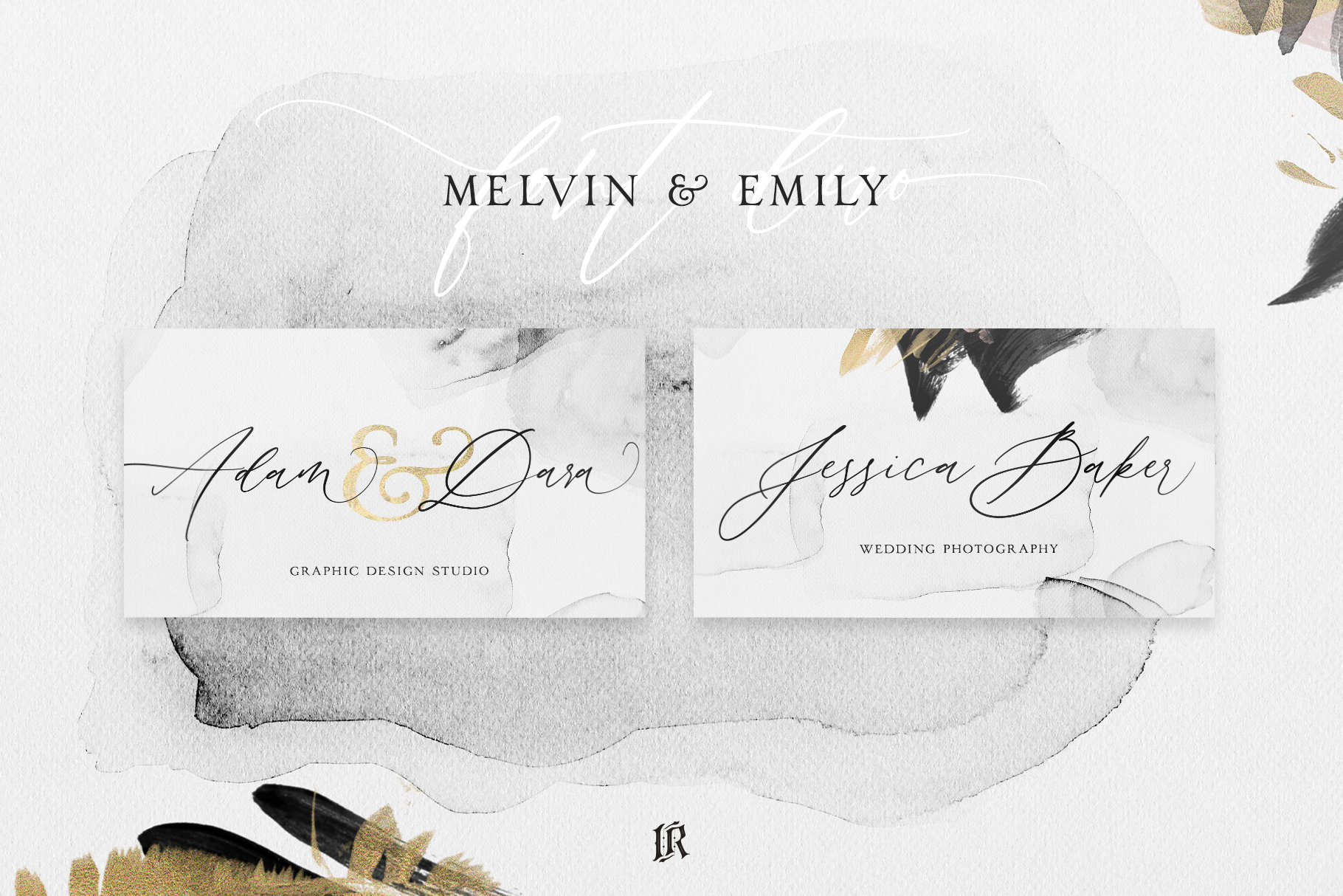 Melvin and Emily Font Duo example image 6