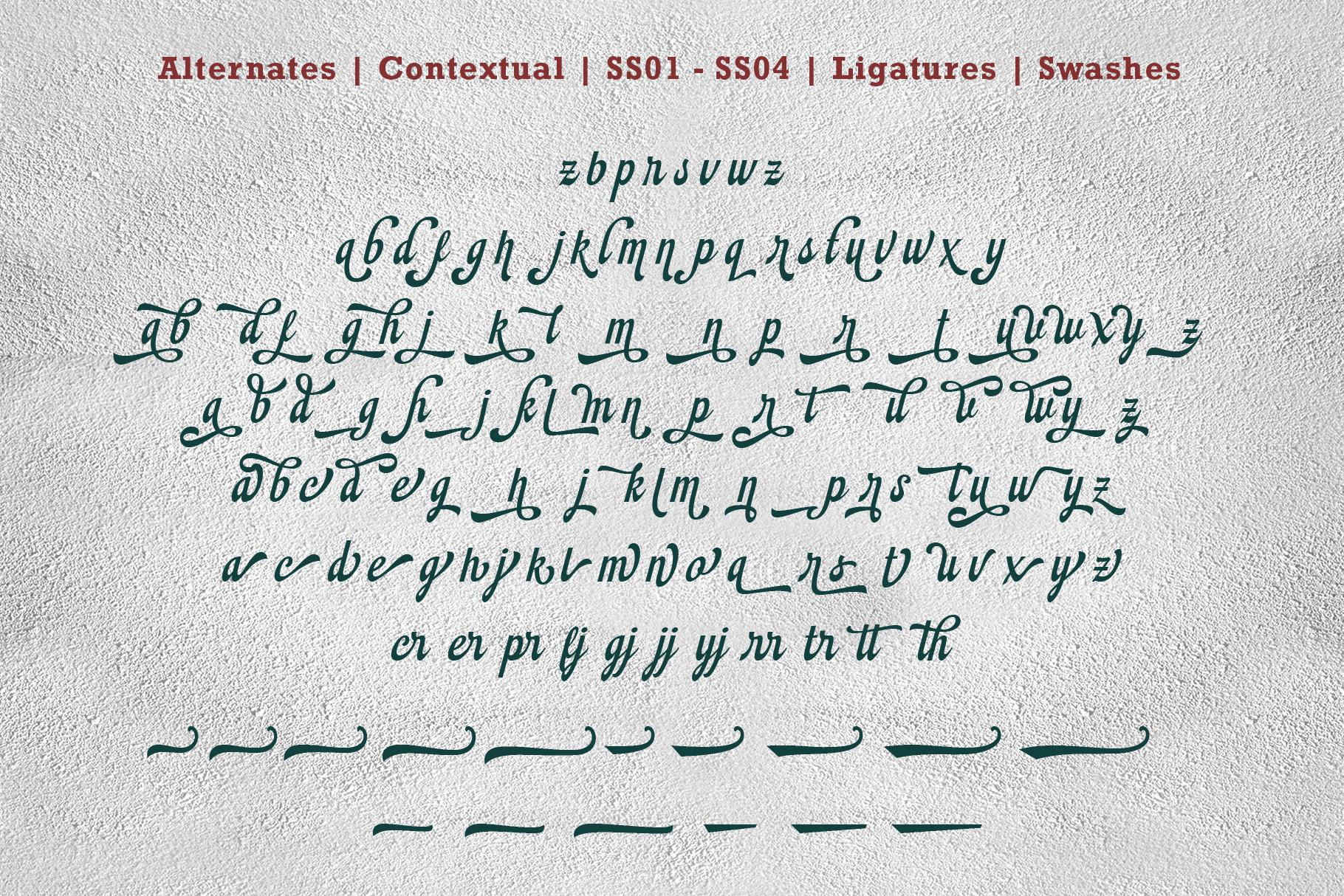 Montheim Script example image 12