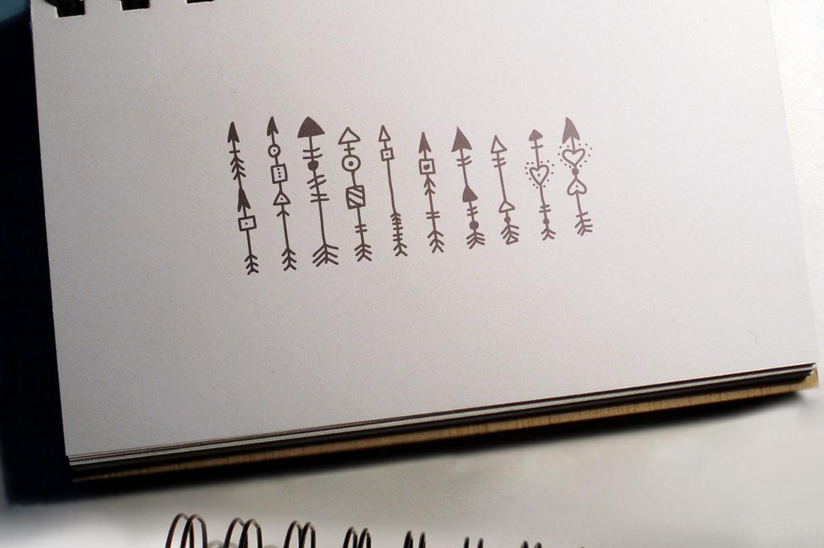 Boho-Chic Arrows & Deco Vectors example image 5