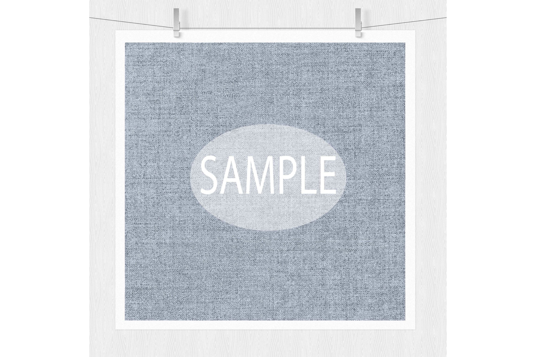 Linen Texture - Cool Hues Digital Paper example image 2