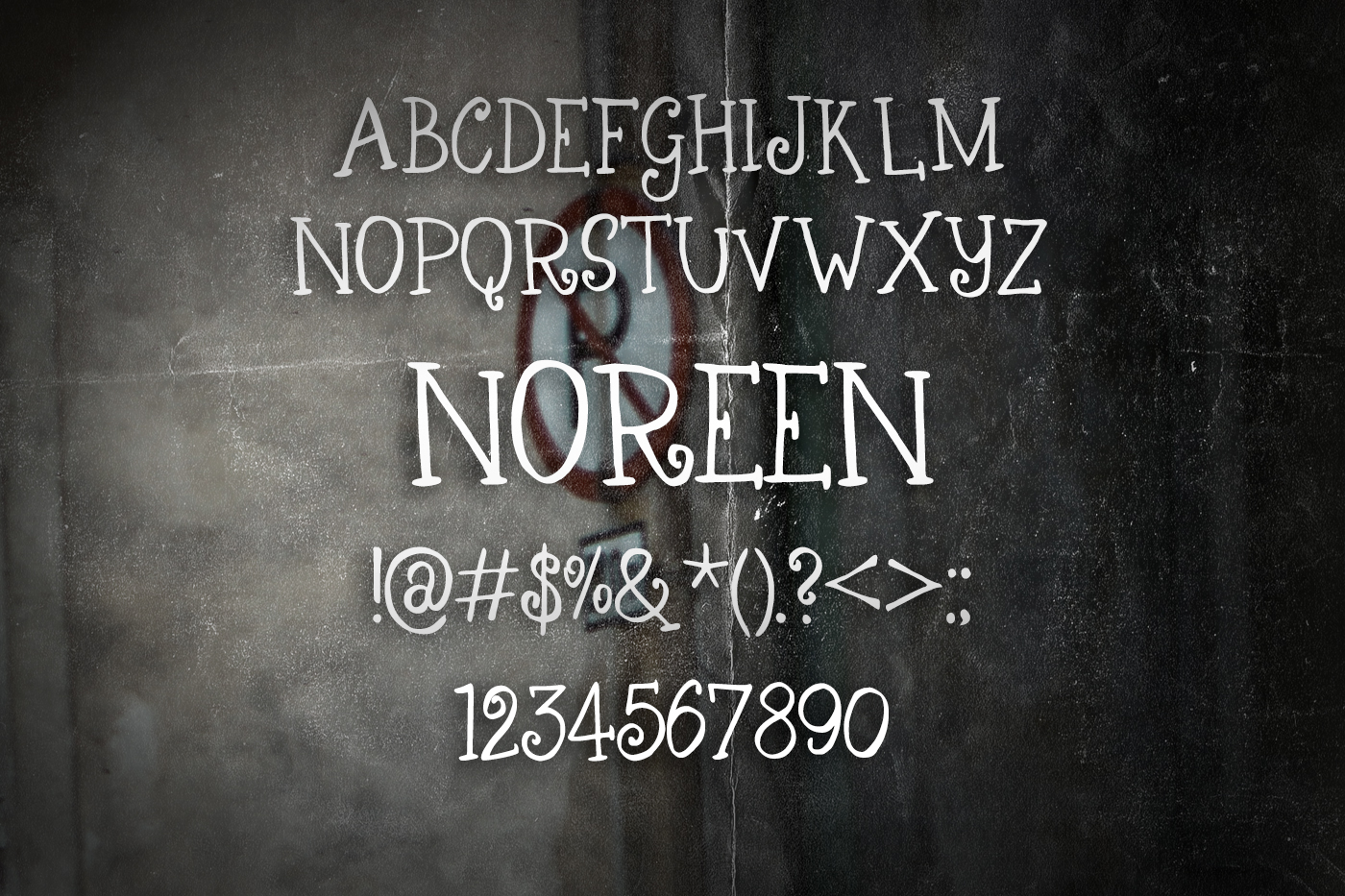 Noreen Font example image 2