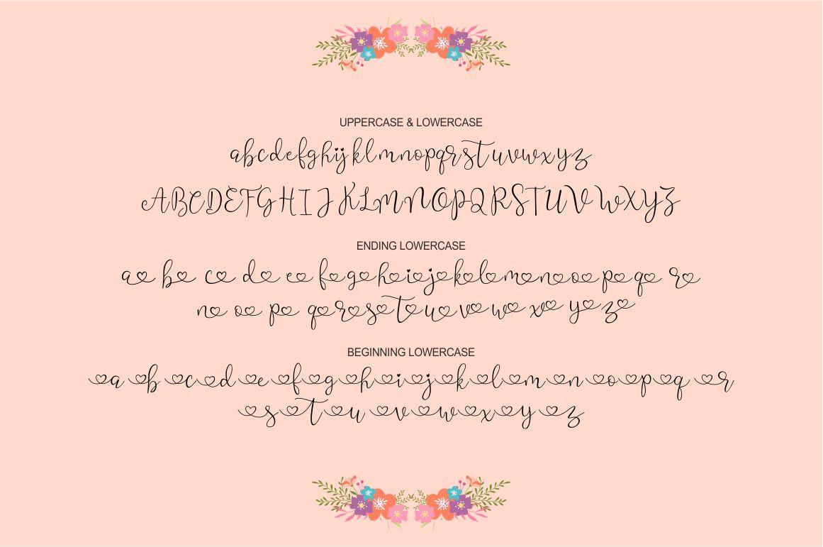 Wisteria Script example image 6
