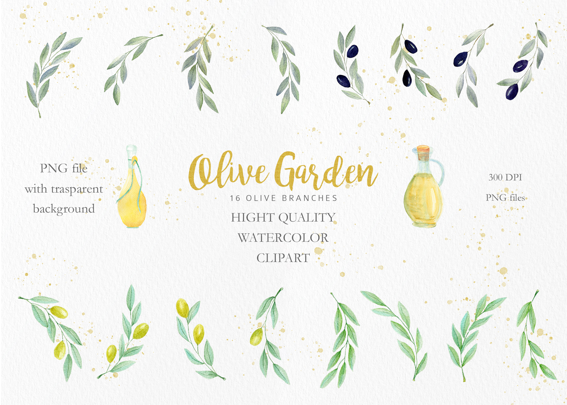 Olive Garden Clipart Collection example image 7