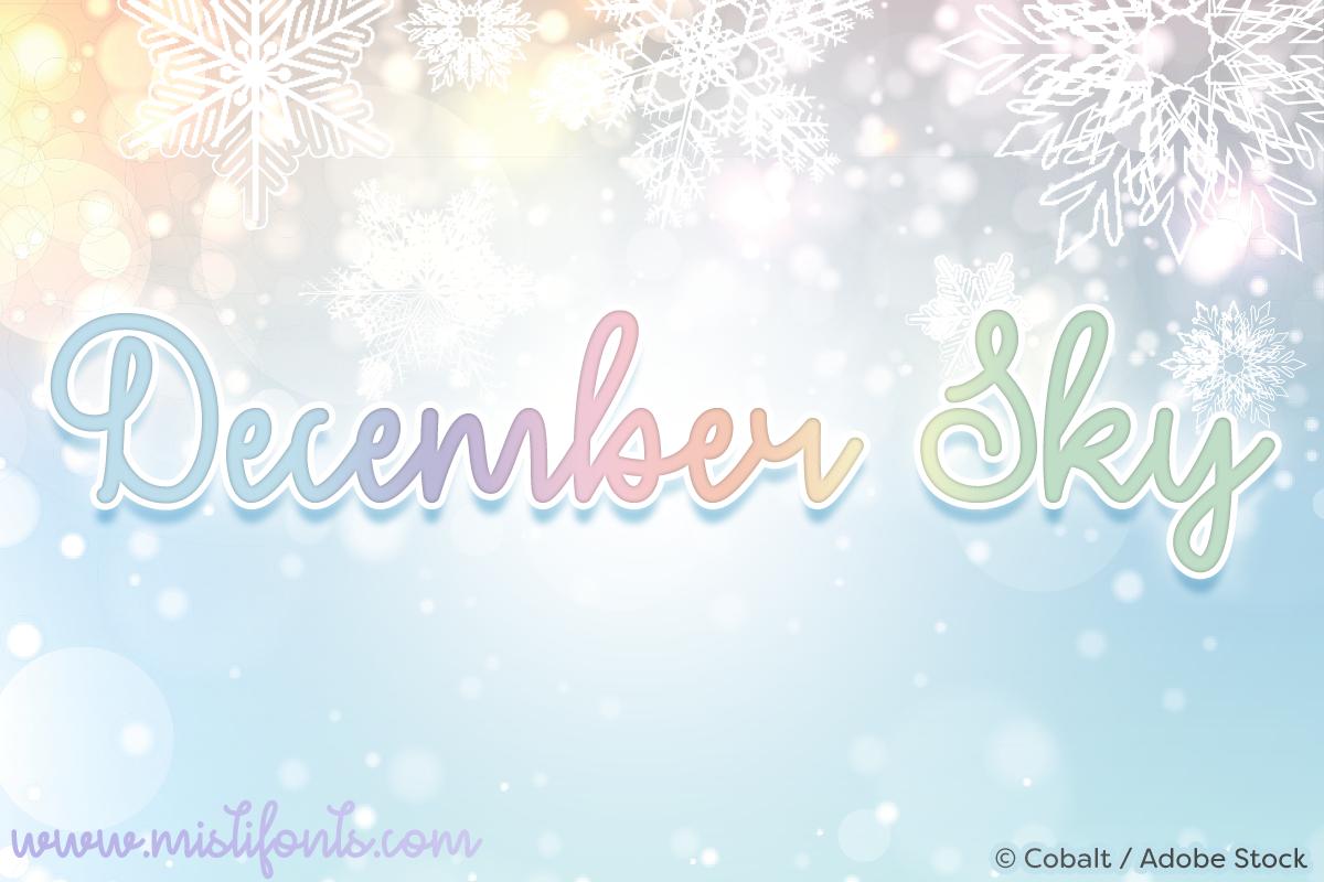 December Sky example image 1