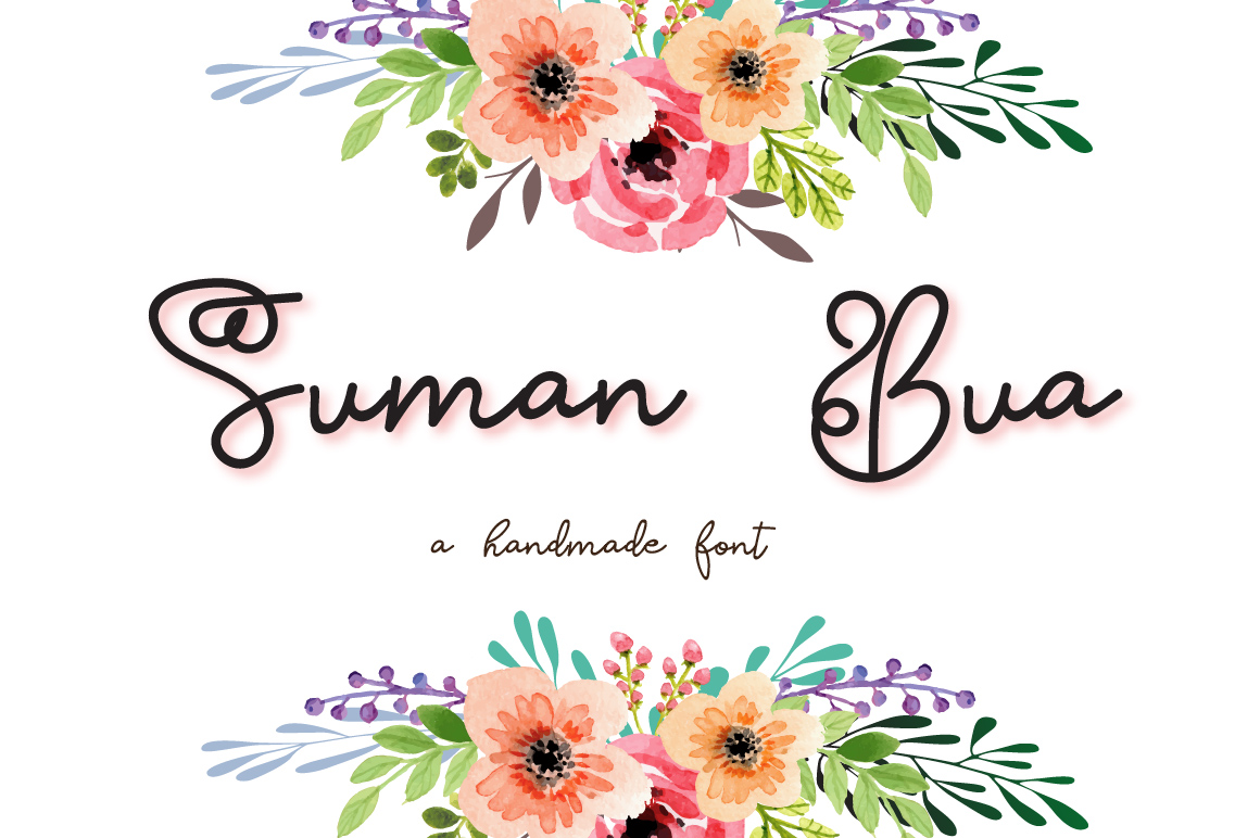 Suman Bua Font example image 1