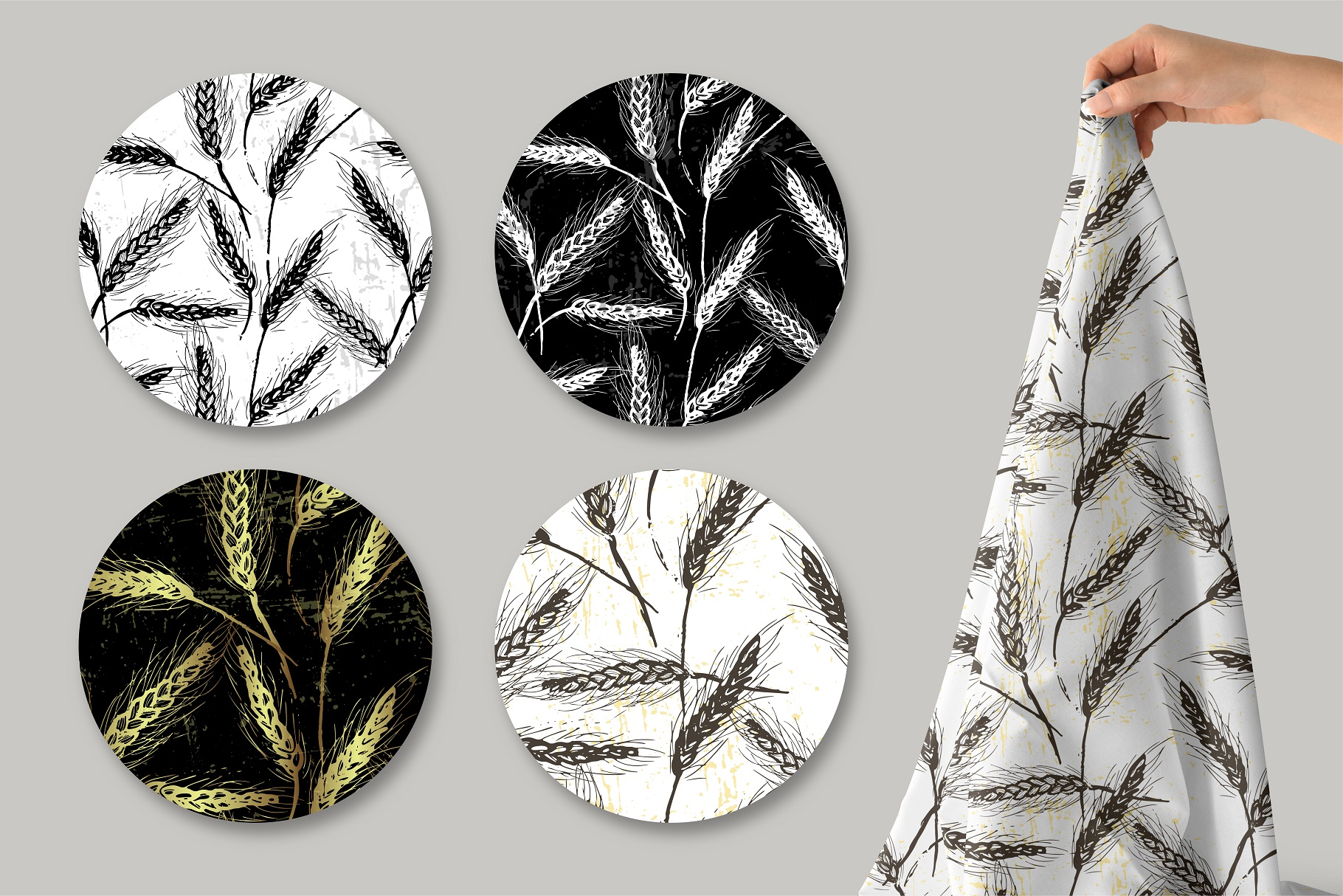 Spikelets Pattern Collection example image 4