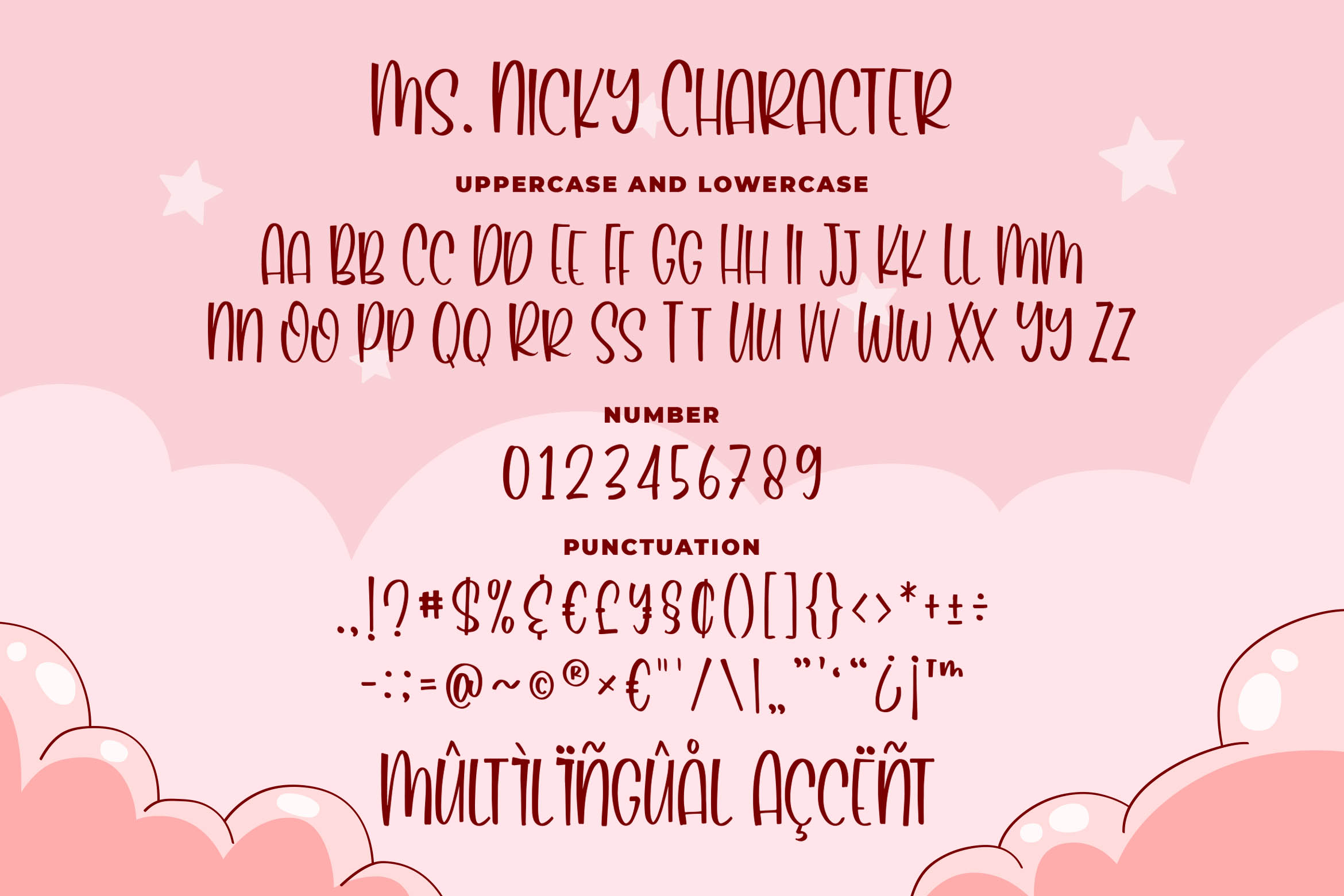 Ms. Nicky - A Playful Font example image 5