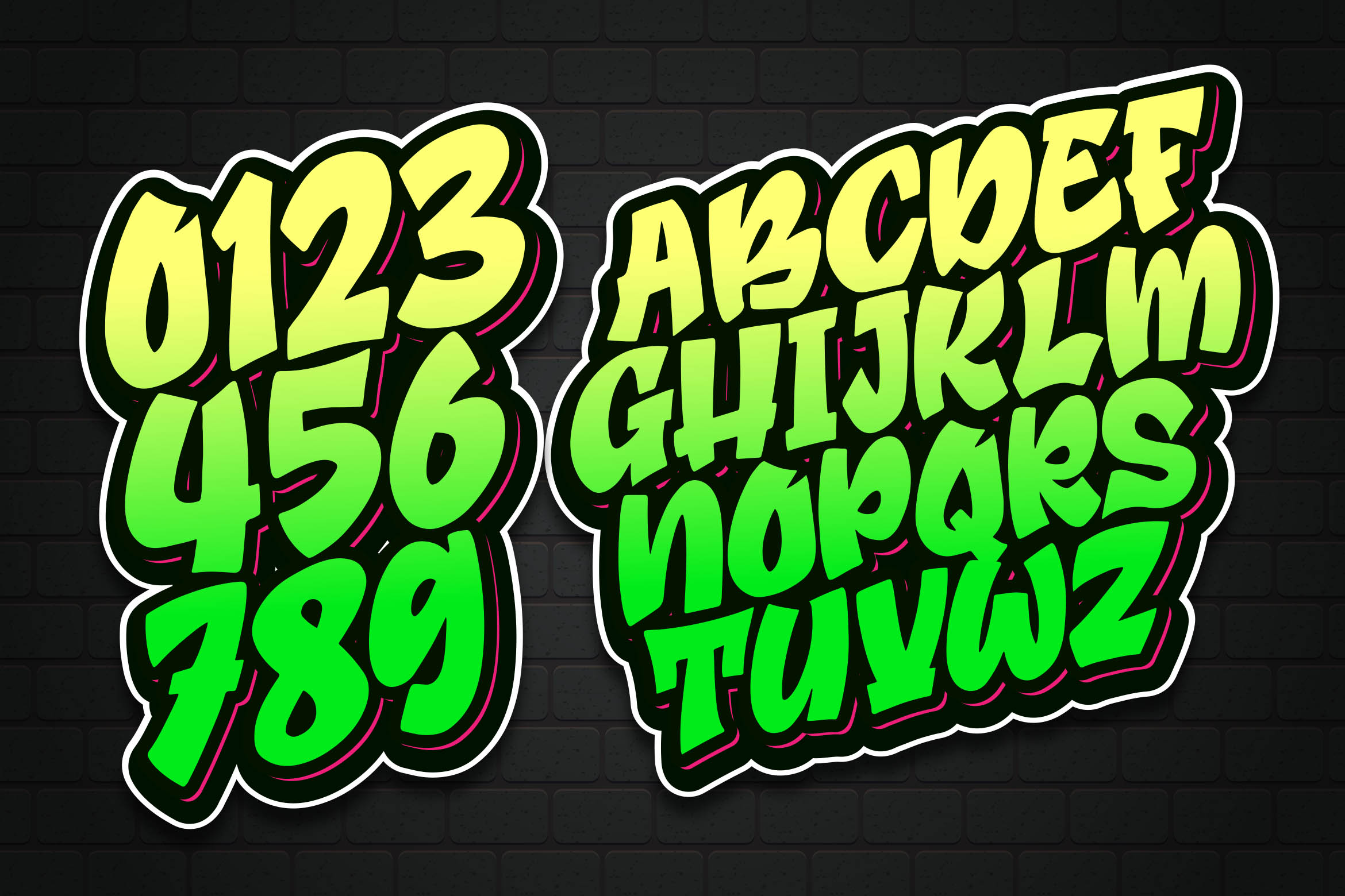 Broster - a Graffiti Font example image 4