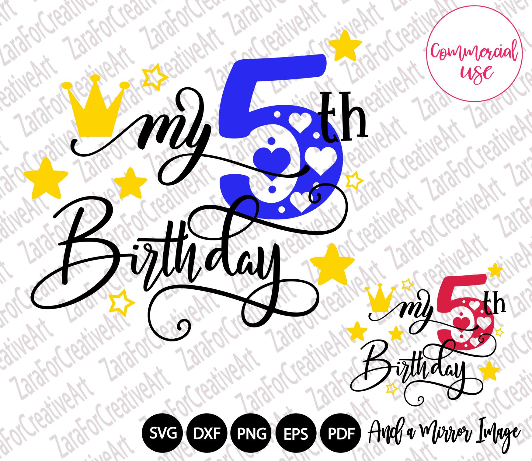 my birthday svg bundle, birthday girl bundle birthday boy , example image 6