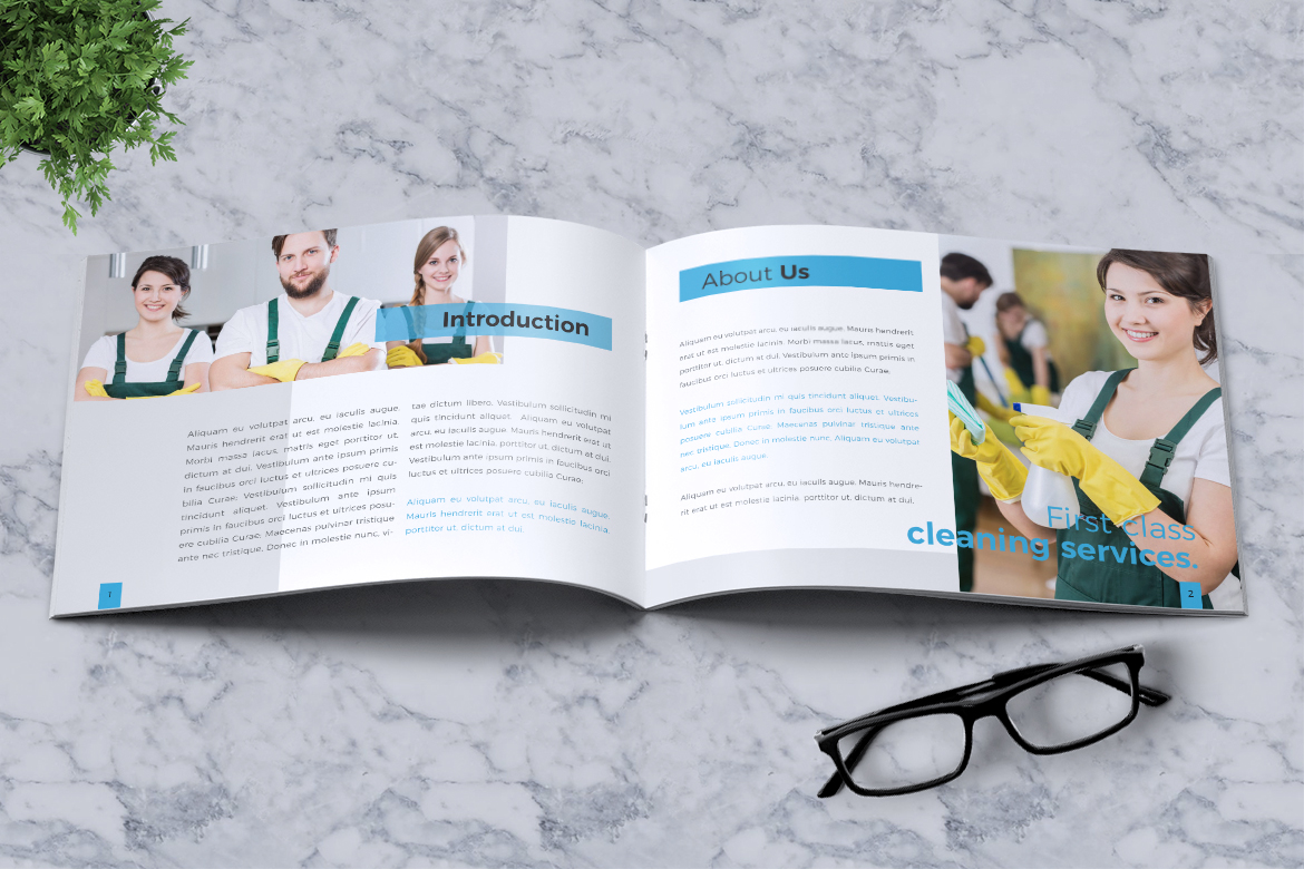 Cleaning Service Company Brochure example image 4
