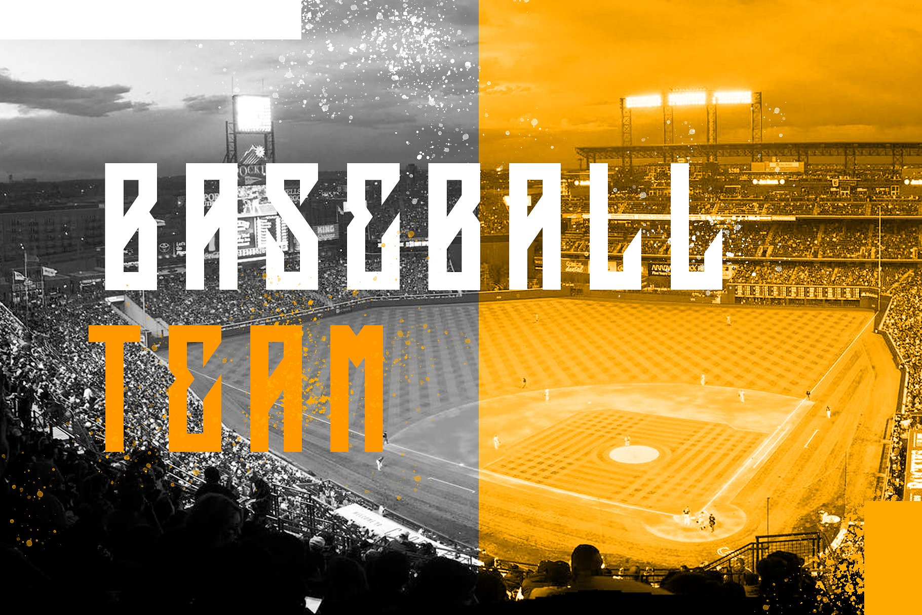 Squareslam sports and esports font example image 3