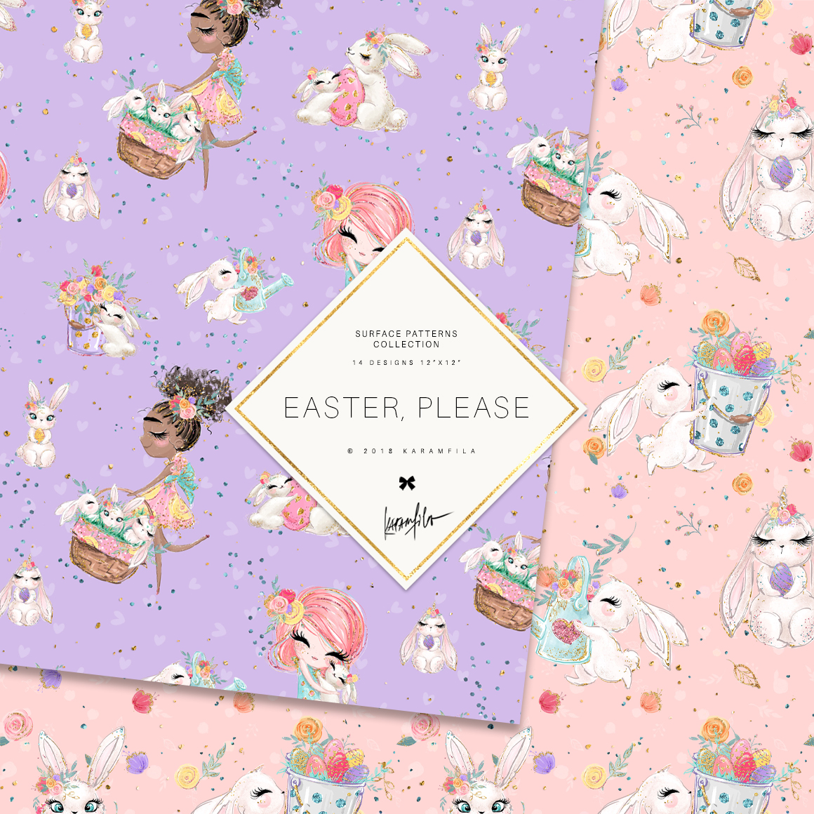 Easter Patterns example image 7