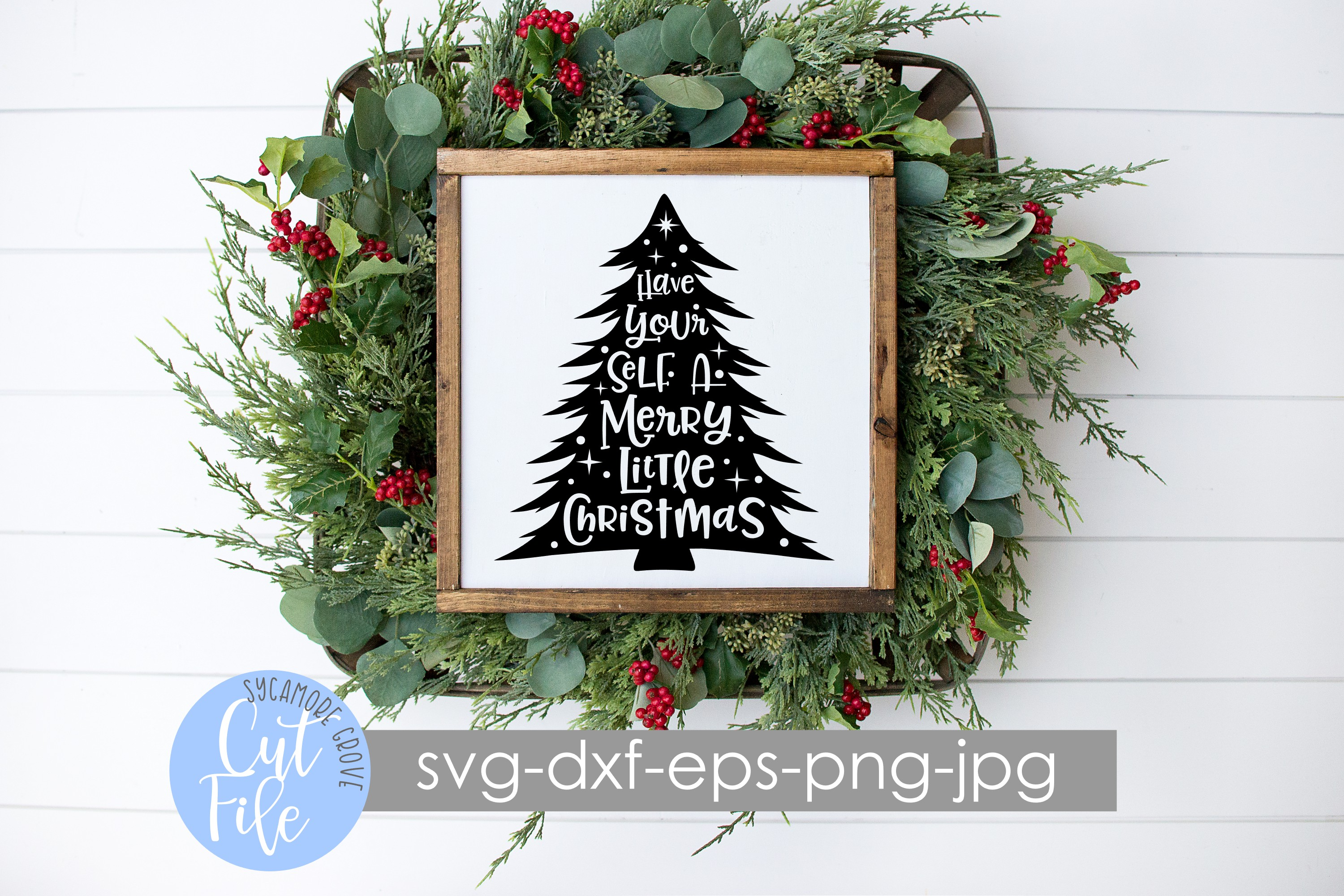 Have Yourself A Merry Little Christmas SVG example image 2