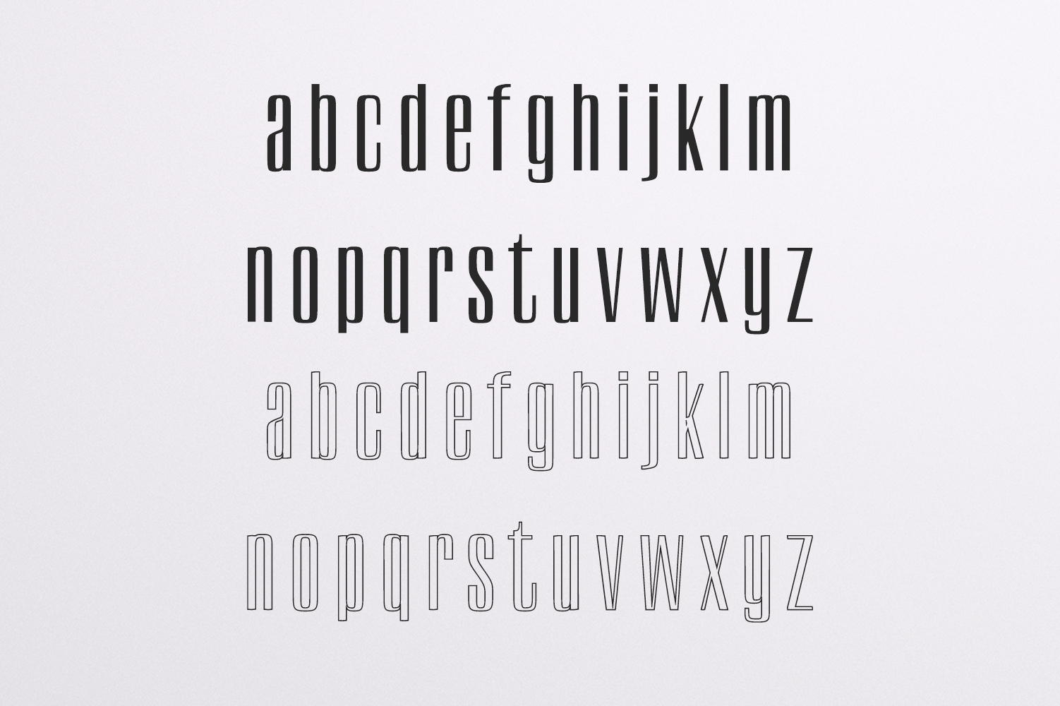 Carla Duo 8 Font Family Pack example image 3