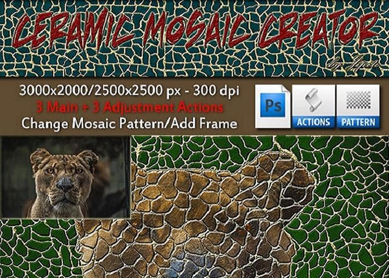 Ceramic Mosaic Creator example image 1