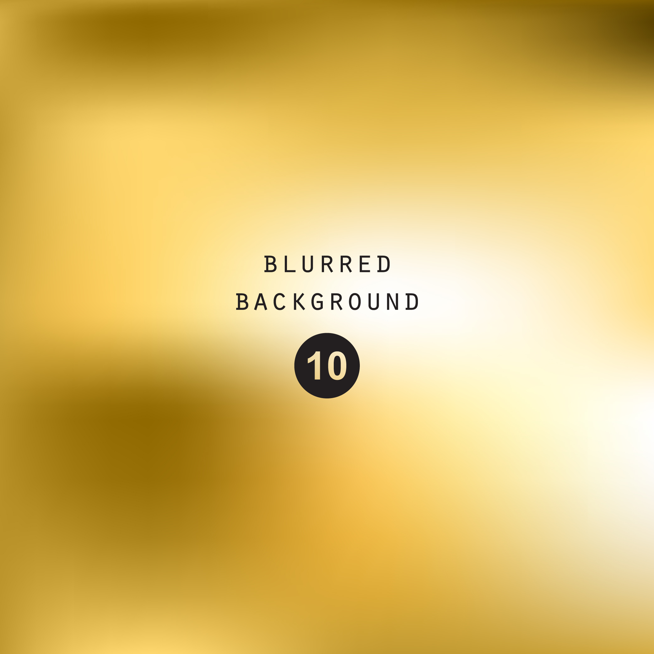 Blurred gold effect holographic gradient abstract background example image 6