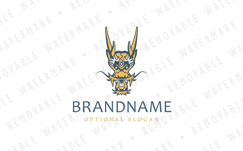 Chinese Dragon Logo example image 2