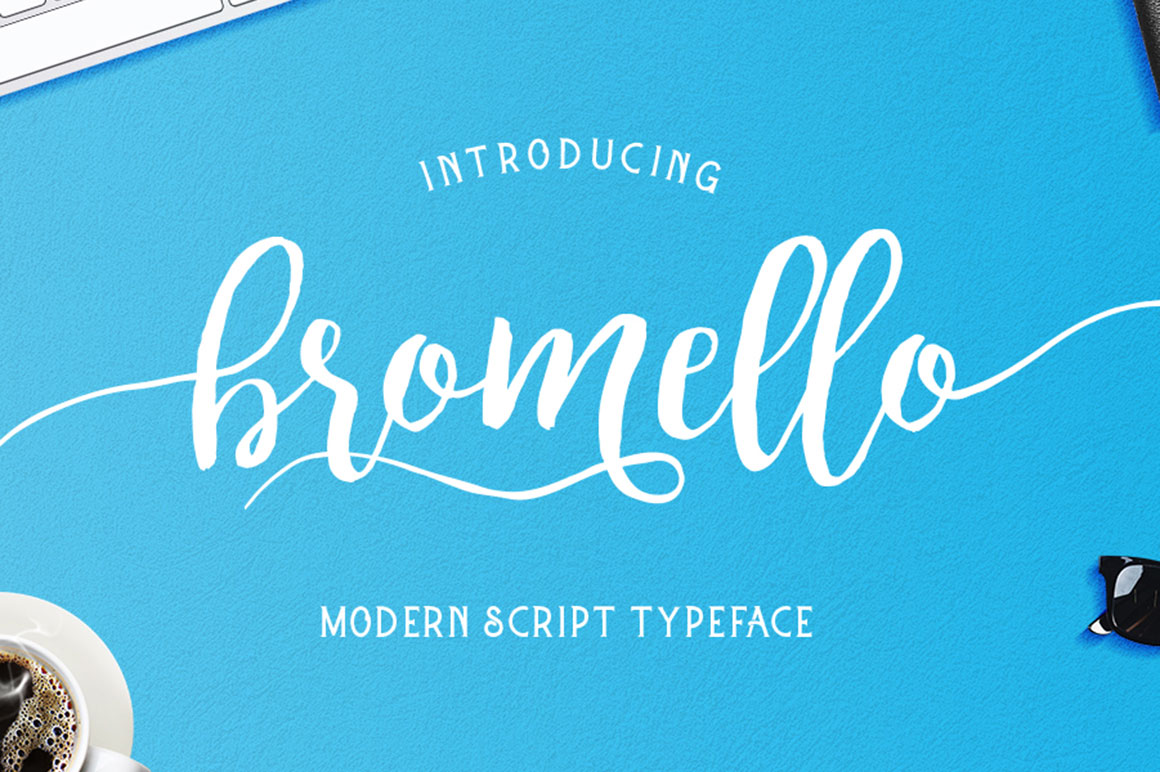 bromello typeface example image 1