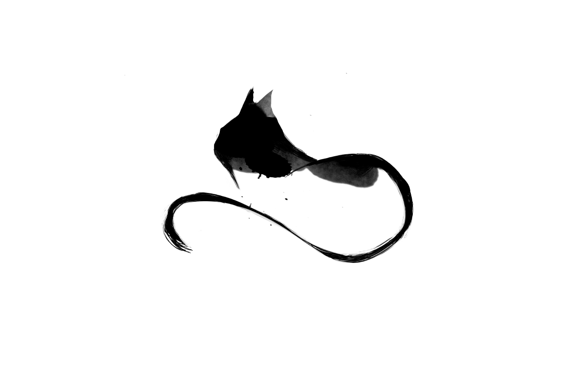 20 Illustration abstract Cats example image 8