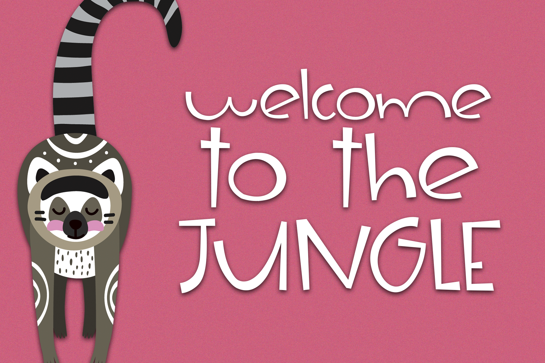 The Jungle - A Fun & Quirky Handwritten Font example image 8