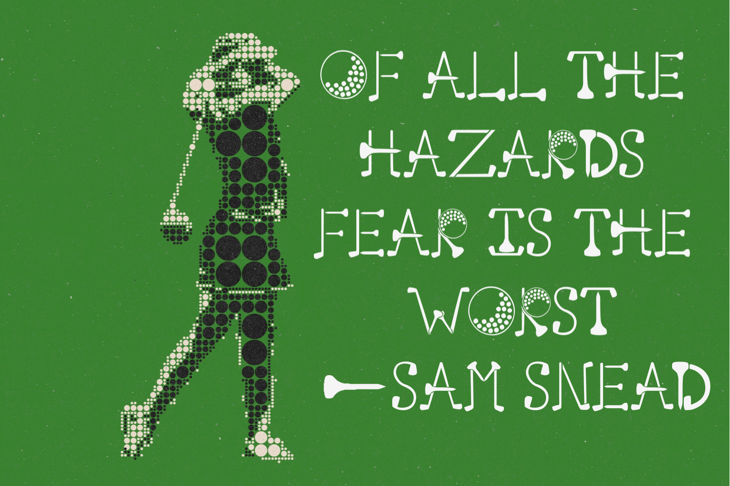 Putting Green - A Quirky Font for Golfers example image 4