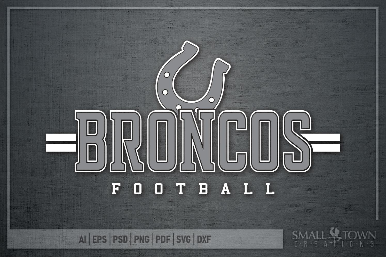 Bronco Football, Football, Sport, Team, PRINT, CUT & DESIGN example image 4