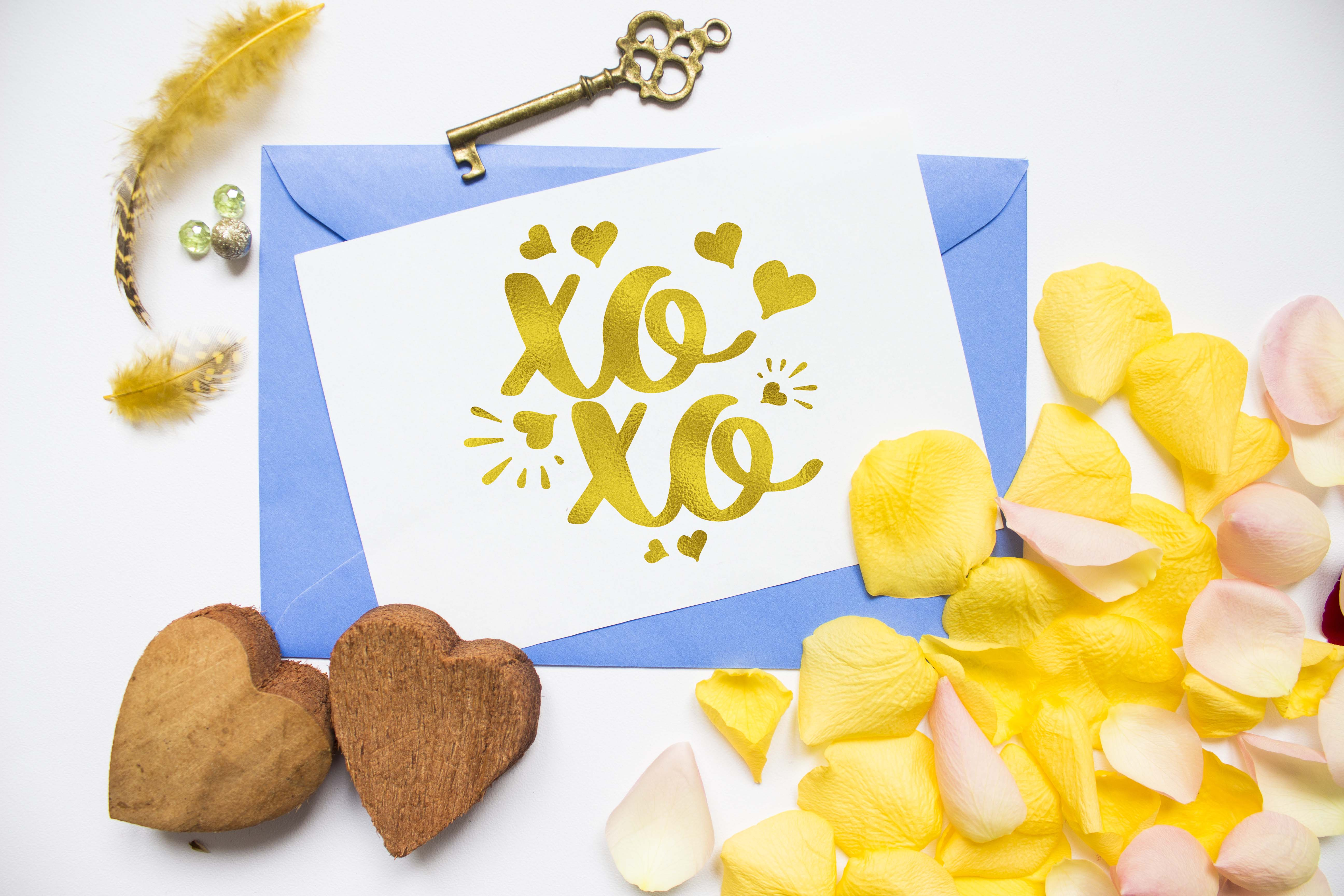 XOXO Svg Hugs and kisses SVG PNG EPS DXF Hearts svg design example image 2