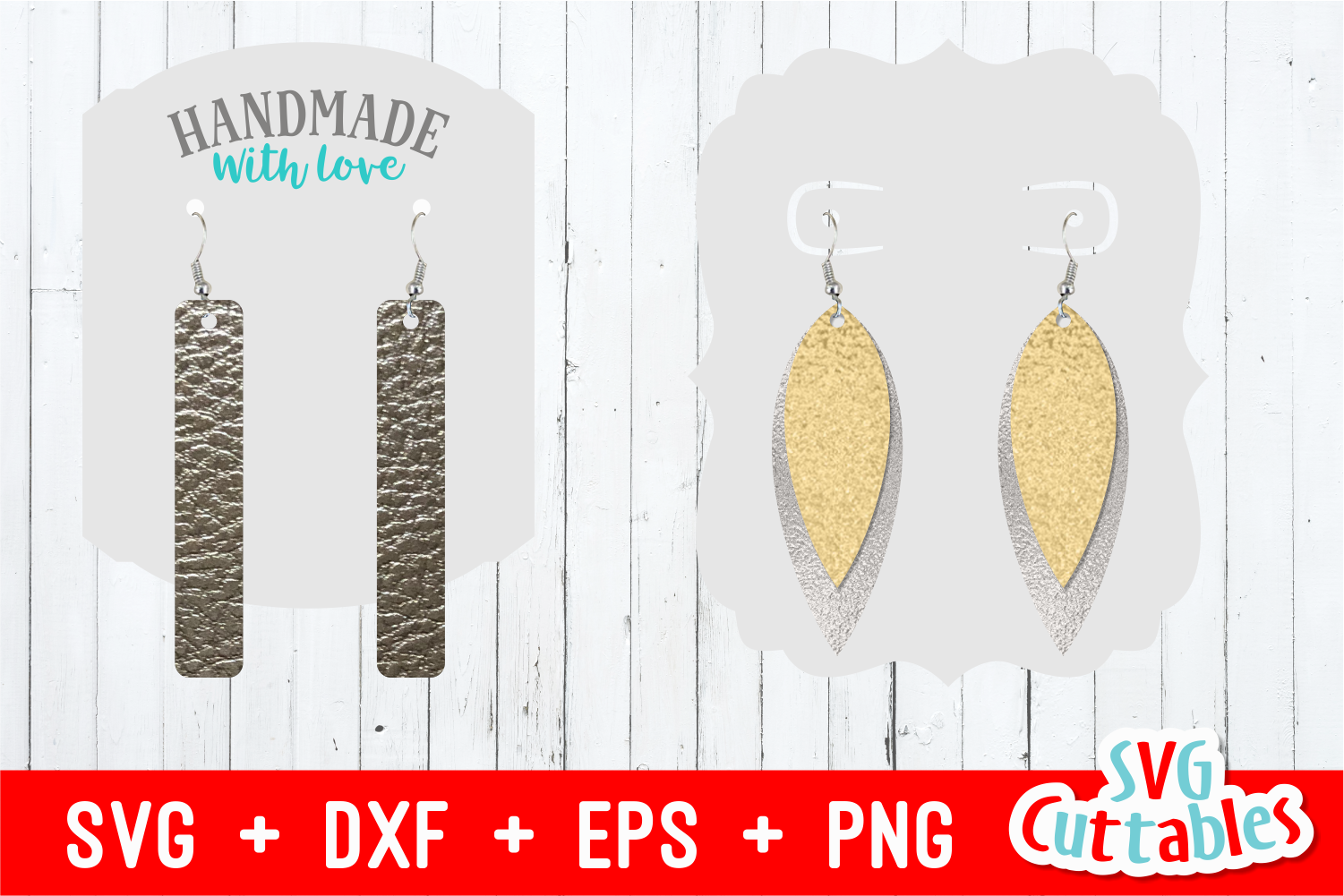 Earring Bundle | SVG Cut Files example image 5