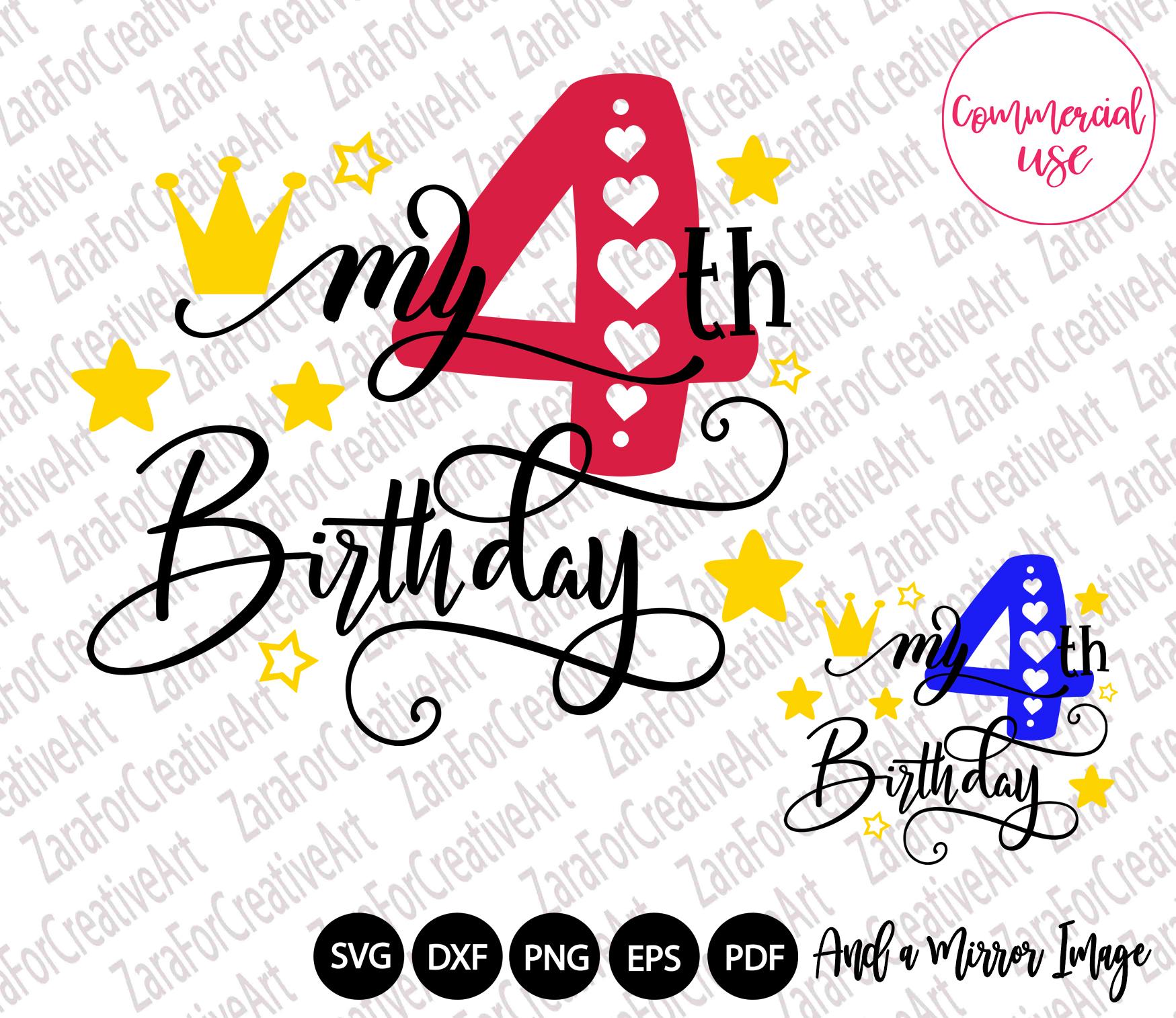 my birthday svg bundle, birthday girl bundle birthday boy , example image 5