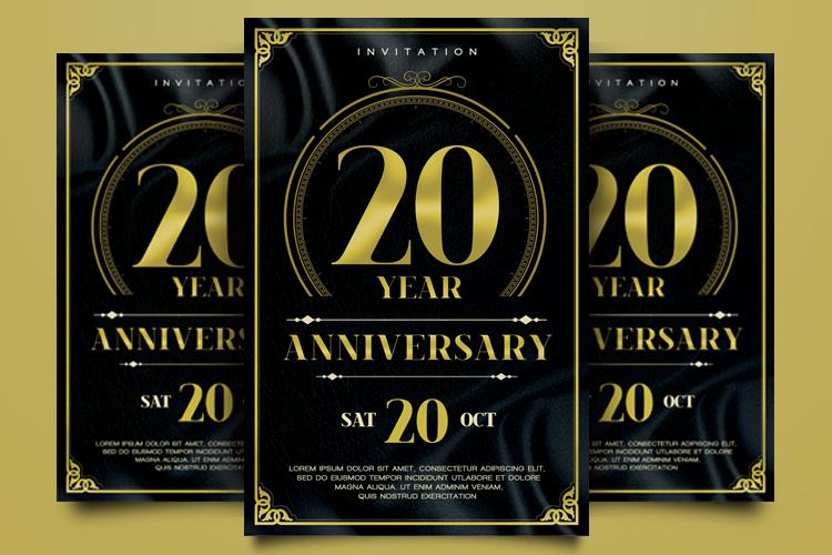 Anniversary Flyer example image 2