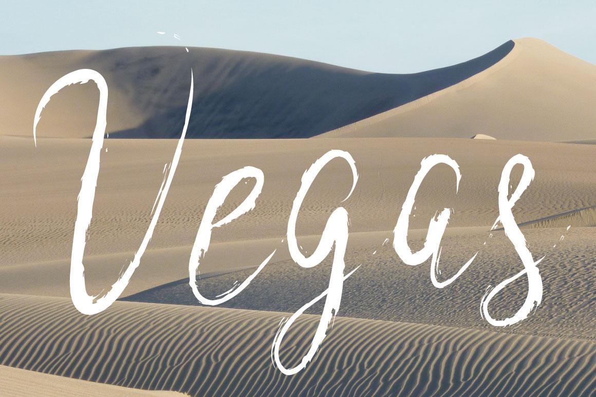 High Desert Script example image 2