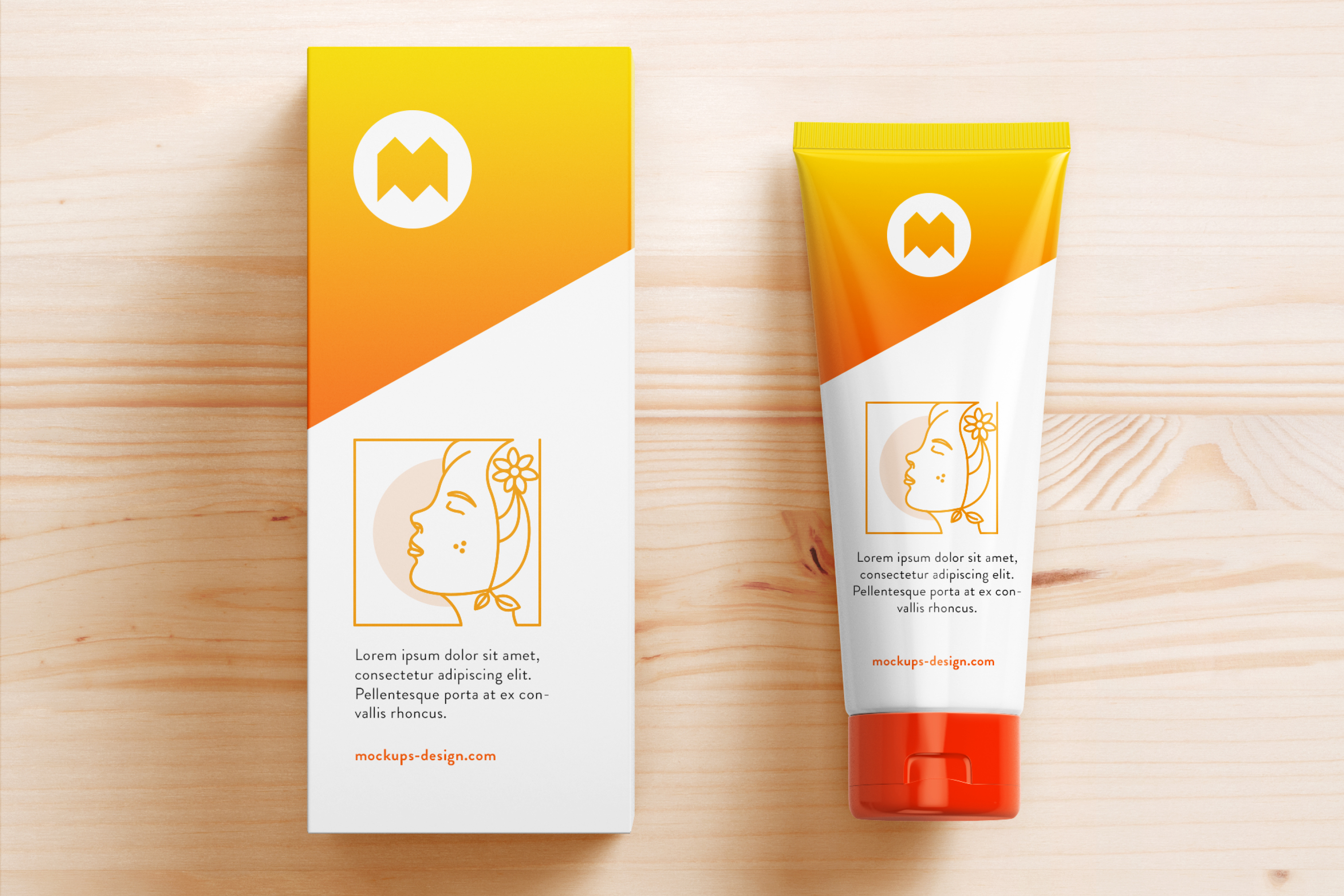 Minimal Beauty Product Faces Vector Designs example image 3
