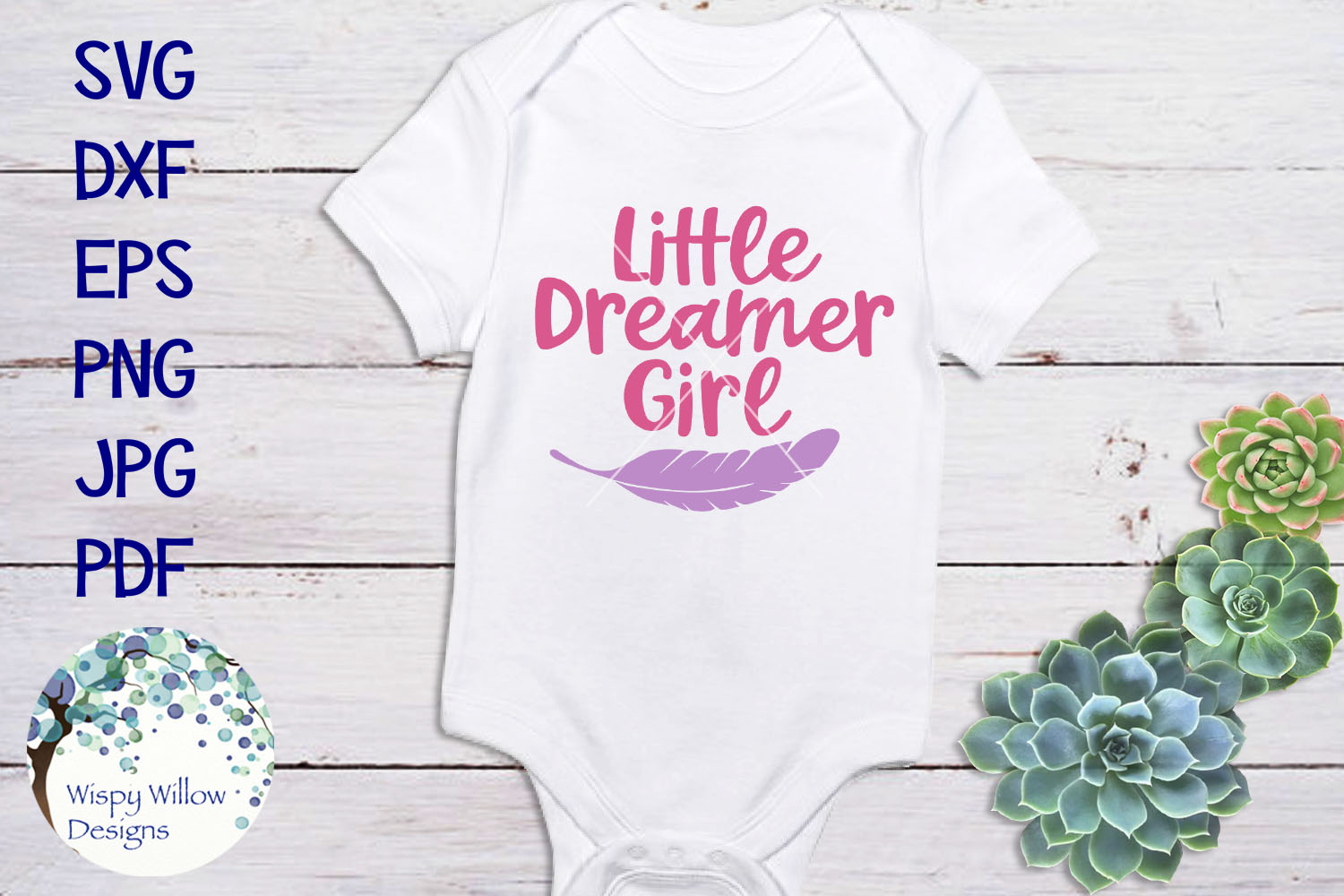 Little Dreamer Bundle | Baby SVG Cut Files example image 2