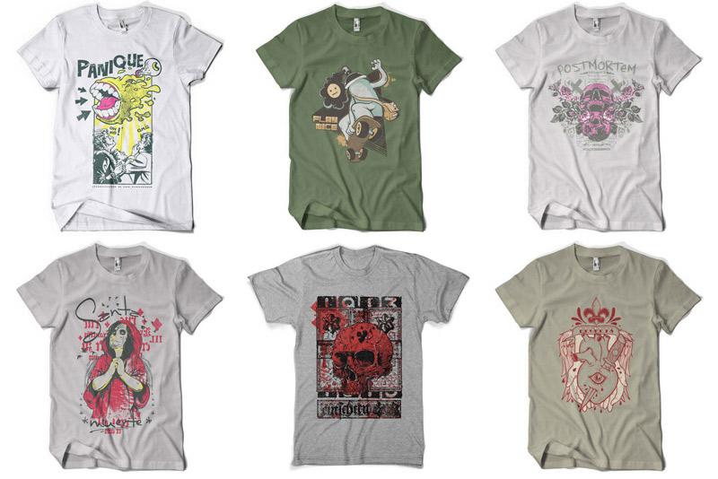 100 Premium T-shirt Designs example image 12