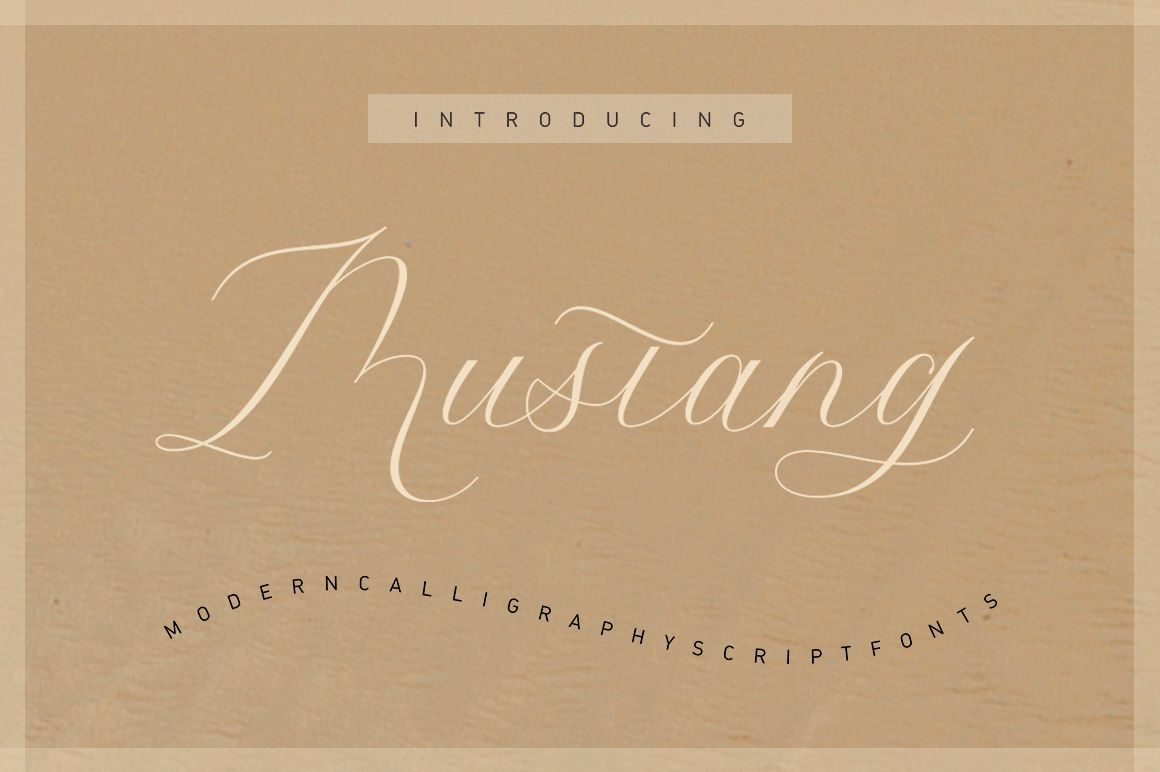 Mustang Script example image 5