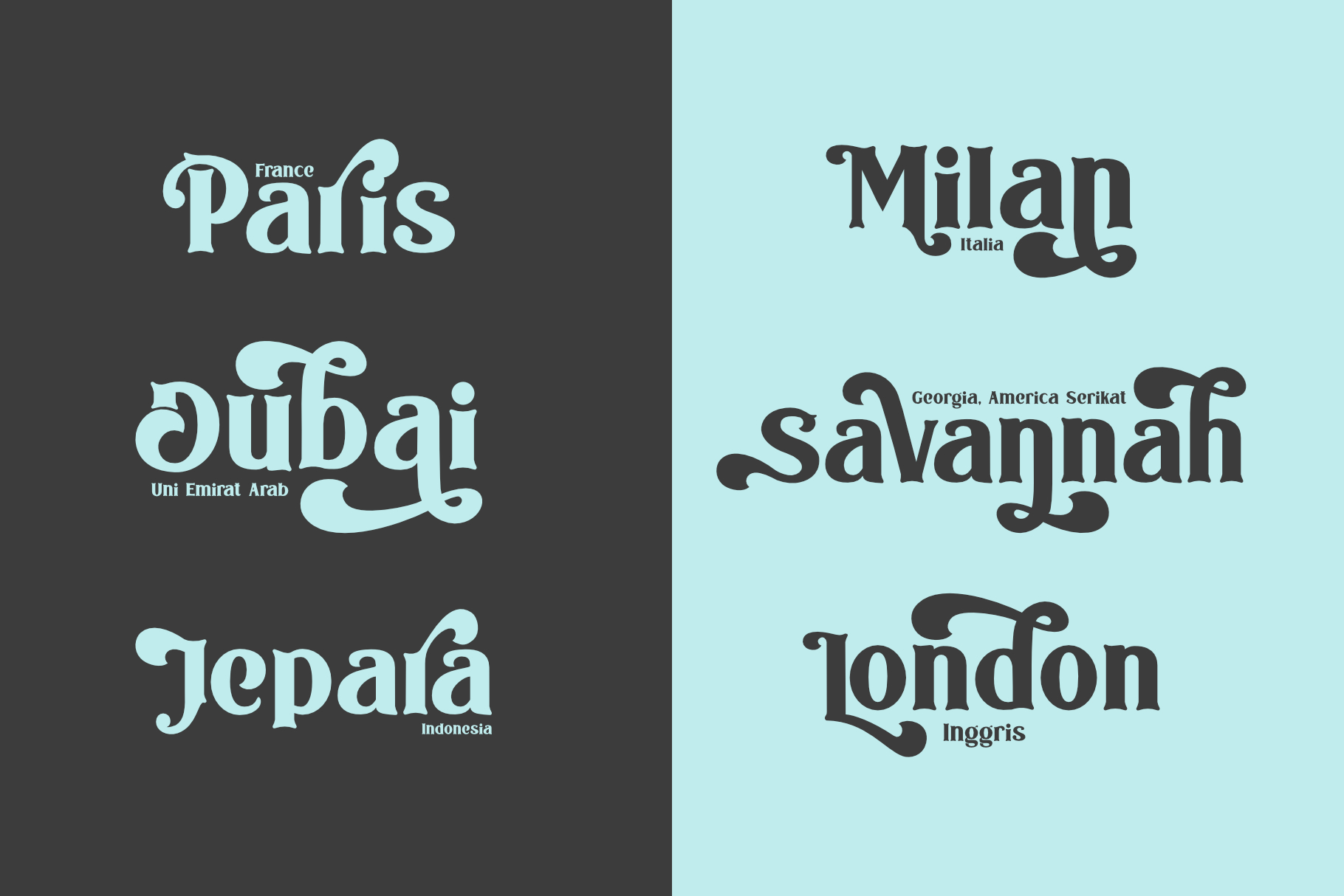 The Bodbug Typeface example image 4