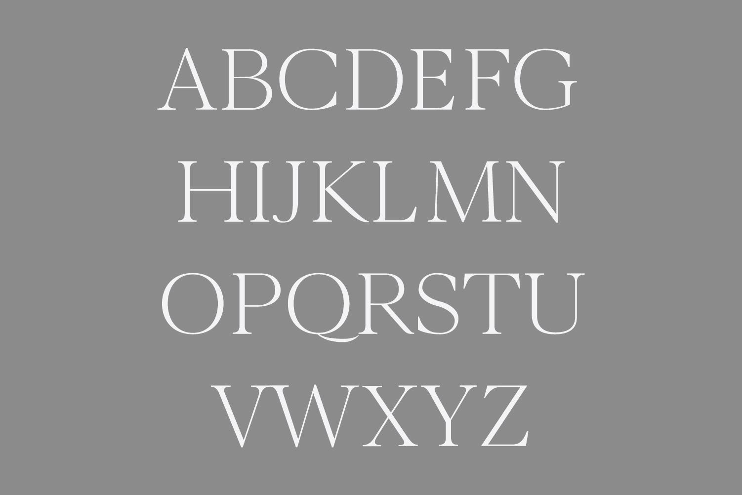Wensley Modern Serif Font Family example image 3