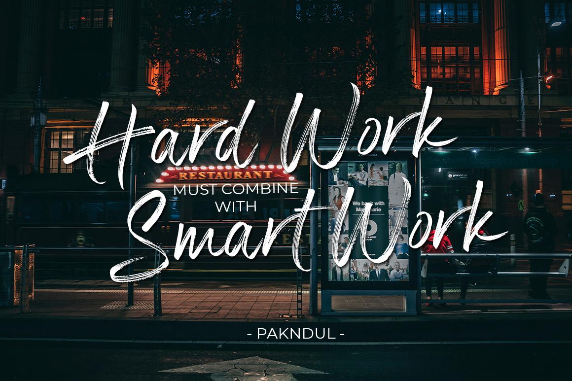 Panterick // Handwritten Font example image 3