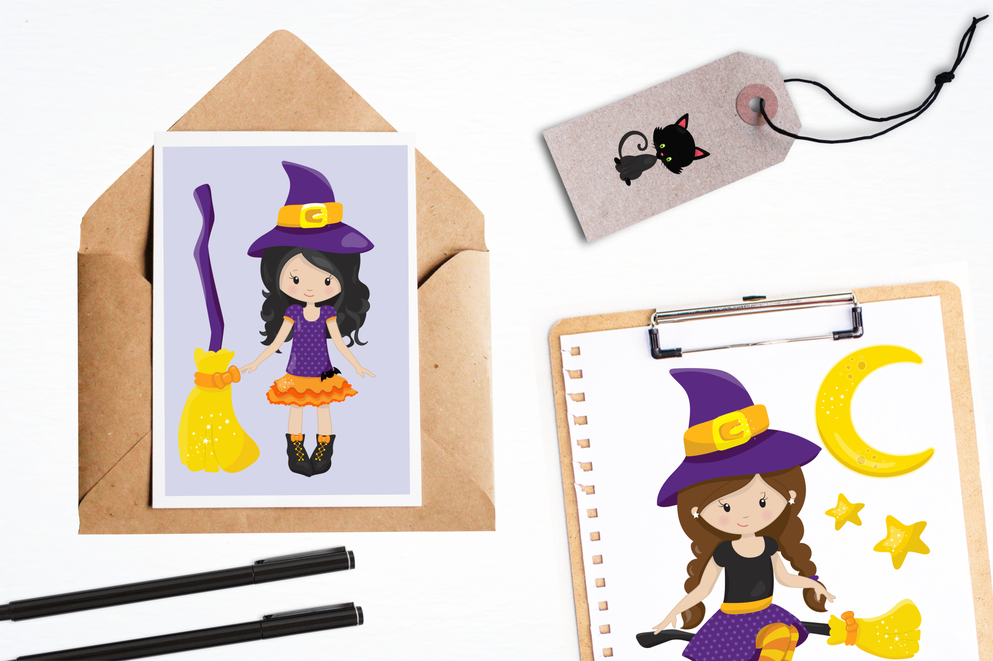 Tweeny Witch graphics and illustrations example image 4