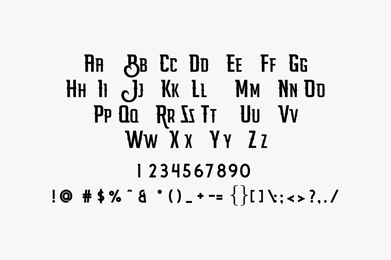 Billgis Font Duo example image 9