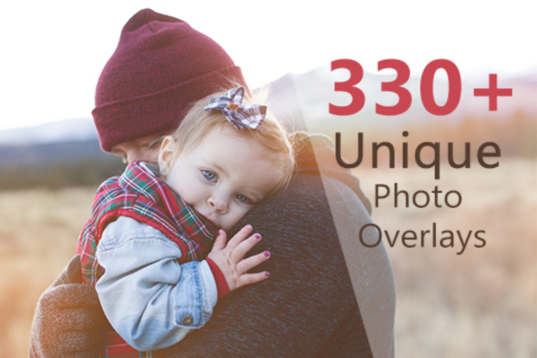330 Unique Photo Overlays example image 1