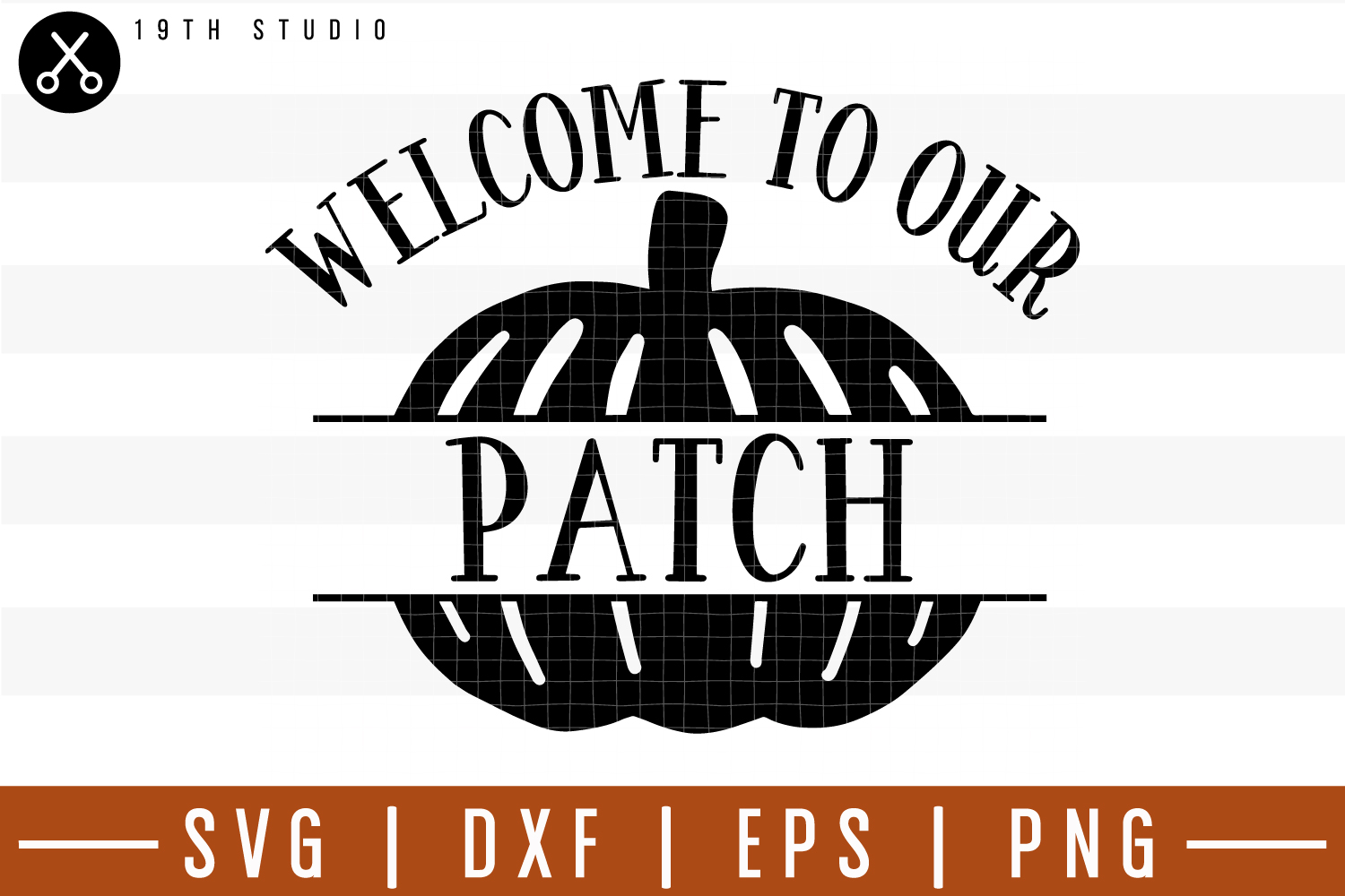 Welcome to our patch SVG| Fall SVG example image 1