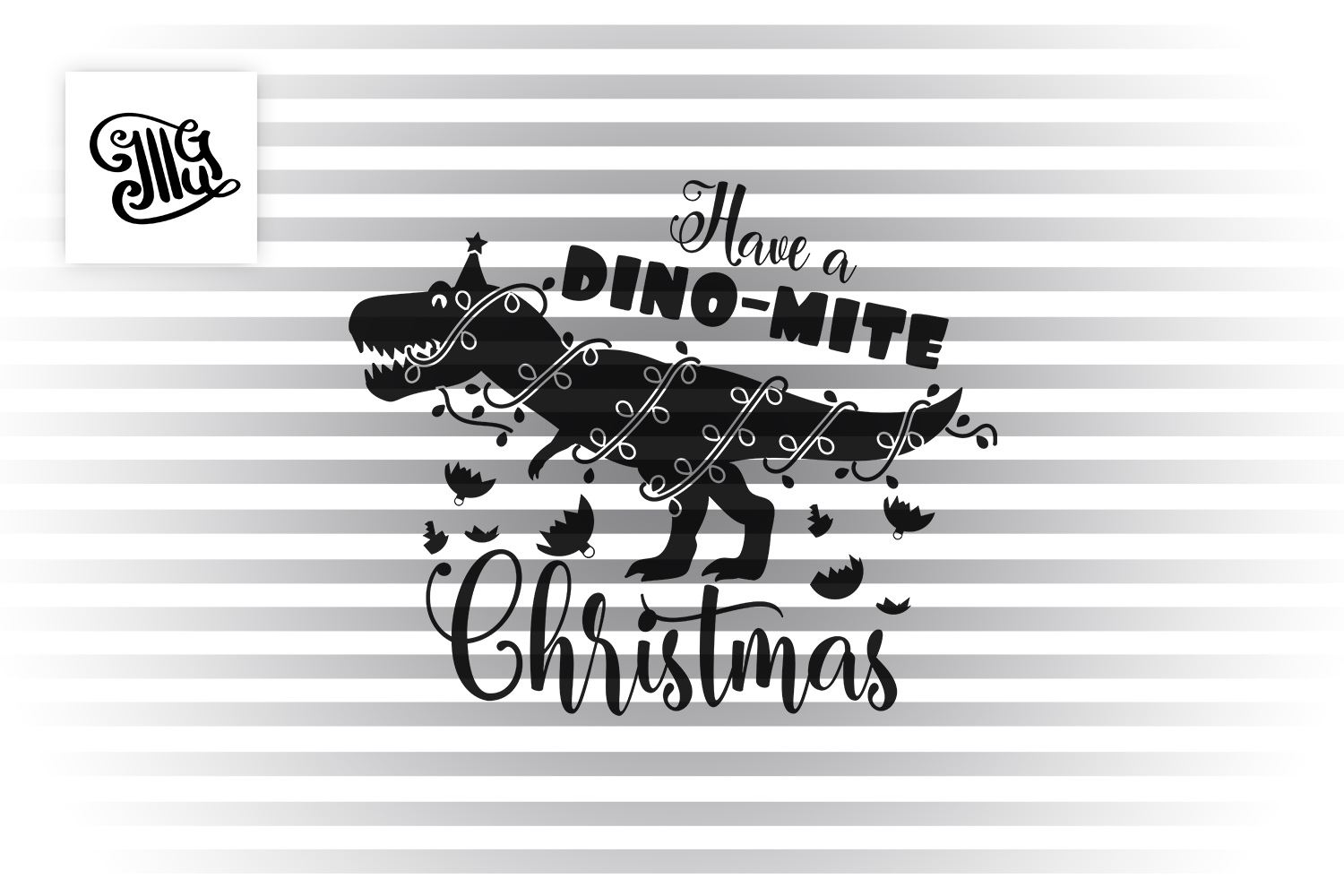 Have a dinomite Christmas - kids example image 2