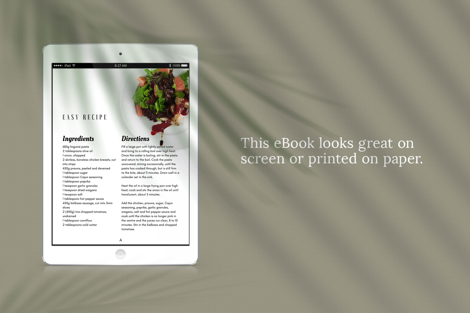eBook or Lead Magnet Canva Template | Gathering example image 3