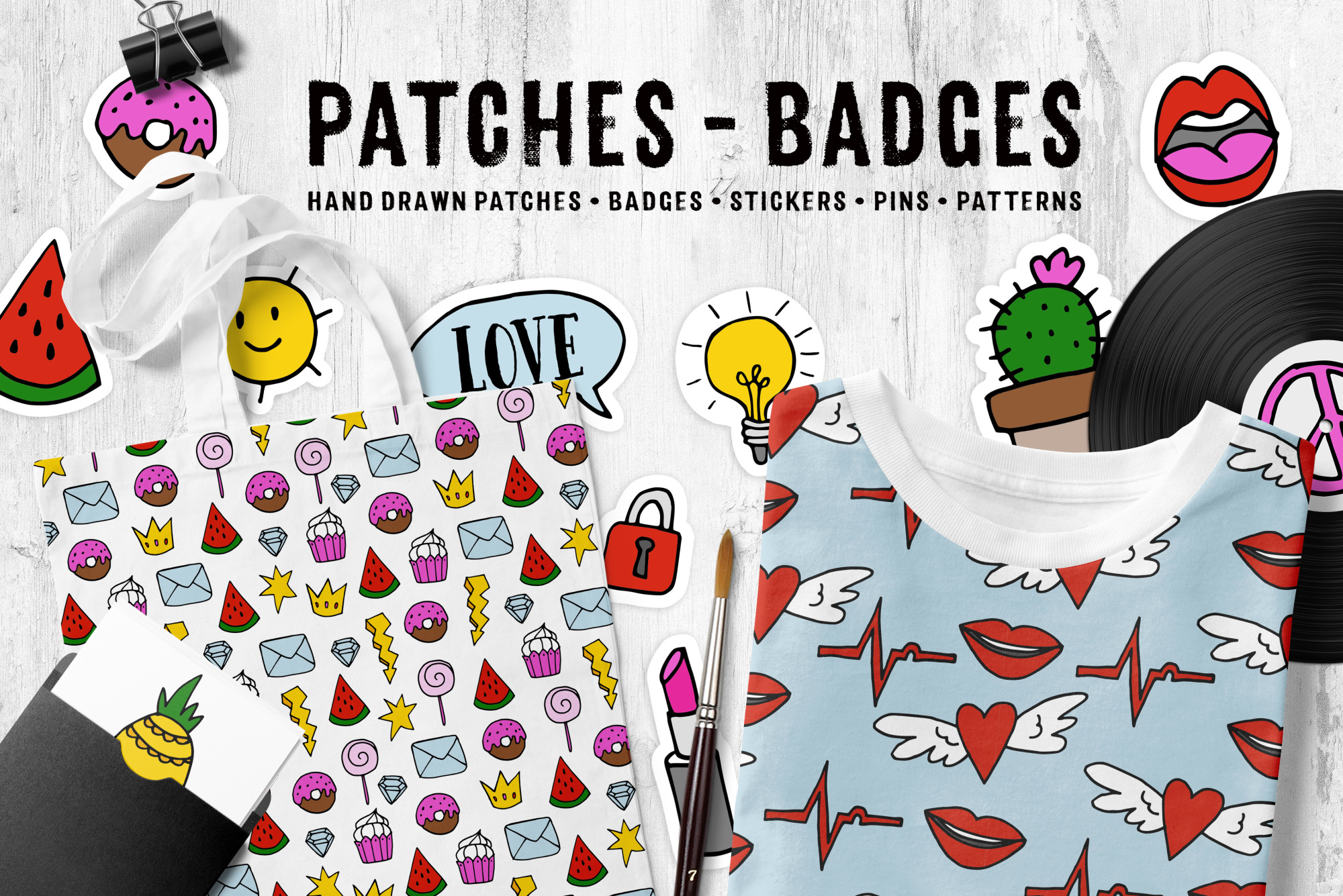 Patches - badges example image 3