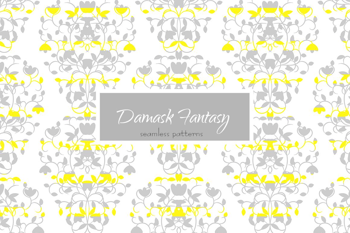 Damask Fantasy Patterns example image 2